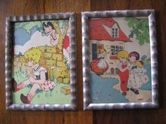 2 x cute children's prints from the 30s...