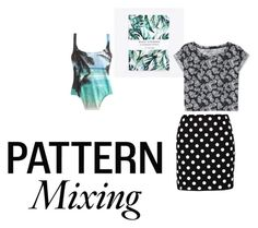 """""""palm trees and polka dots"""" by emma-victoria-e on Polyvore"""