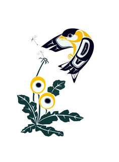 Goldfinch-Prints - Glen Rabena, Northwest Coast Native Artist