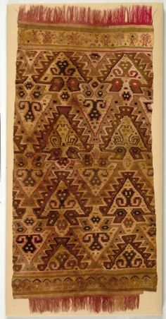 Tapestry Panel. Peru, Central Coast, Chancay-Chimú style, 11th-15th century