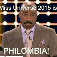 Ctfu ok I'm done after this one. These #steveharvey #MissUniverse meme are hilarious. But we all forgive steve. He just made Miss Universe the talk of the planet. Lol watch the video at http://toorealfortv.com/sports-comedy/steve-harvey-announced-wrong-miss-universe-winner-smh-humiliating-disaster