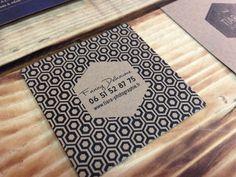 Carte De Visite TIARA Photographie I Design By Crme Papier