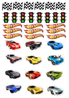 Cars birthday party cake cupcake 57 Ideas for 2020 Bolo Hot Wheels, Hot Wheels Cake, Hot Wheels Party, Hot Wheels Birthday, Race Car Birthday, Cars Birthday Parties, Cake Birthday, Imprimibles Hot Wheels, Anniversaire Hotwheels