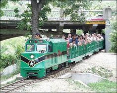 "Calling all kids aboard! Come ride the Zilker Zephyr at the Zilker Metropolitan Park. Austin's ""most-loved park."""