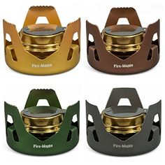 Evaporation Alcohol Stove Portable Mini Spirit Burner Hiking Camping ** More info could be found at the image url.
