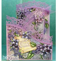 Lilacs and Lace - #HeartfeltCreations #spring #cardmaking #papercrafts #anyoccasioncard #justbecause #friendship