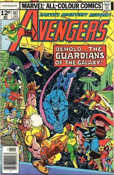Avengers #167, Guardians of the Galaxy