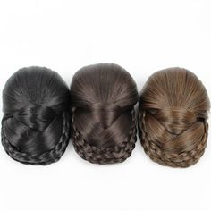 Find More Chignon Information about JOY&BEAUTY hair Three colors available Braided Clip In Hair Bun,Chignon Hairpiece Donut Roller Bun Hairpiece long 14cm ,High Quality clip in hair,China clip in hair bun Suppliers, Cheap clip ins from JOY&BEAUTYWIGS Store on Aliexpress.com