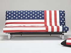 Divano letto bandiera americana Istar