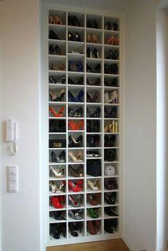 Schuhregal …