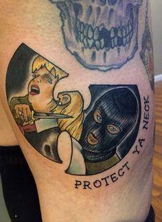 Wu-Tang Tattoo Design by chadillac_green
