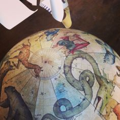 Bellerby and Co Celestial Globe : Globemaker : Handmade Bespoke Terrestrial World Globes. Photo : Jade Fenster