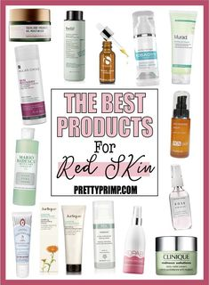 15 Best Products for Facial Redness to Soothe & Calm Your Skin Red skin is known for not only causing those who suffer from it to look flushed, but for also being . Read Best Products for Facial Redness to Soothe & Calm Your Skin Redness On Face, Anti Redness, Acne Face, Face Skin, Acne Blemishes, Acne Treatment, Skin Treatments, Spot Treatment, Beauty