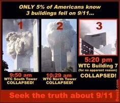 By 10:30 am Sept. 11th, two planes crashed into the twin towers.  Do you realize there was a third building?