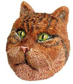 Cat-Pet-ручной-бумаги маше и арт-маска-стене MAKEAFACEmasks