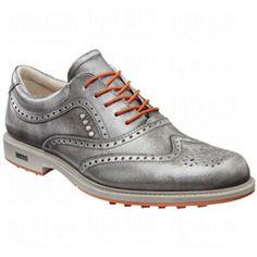 0387da02ad5 ECCO Mens Tour Hybrid Wingtip Golf Shoes  ECCO  Golf  Shoes  Hybrid