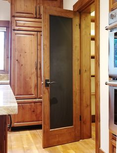 Getting major cozy cabin vibes from this all-wood-everything look ✨ Knotty Alder Doors, Cozy Cabin, Your Perfect, Exterior Doors, Exterior Design, Everything, Design Ideas, House Design, Wood