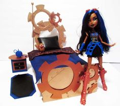 How to make a Robecca Steam Doll Bed Tutorial/Monster High