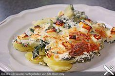Kartoffel - Mangold - Gratin
