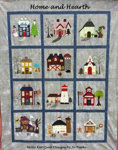Home & Hearth Quilt Block a Month Join Now!