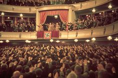 This is one of the most well composed photographs of the National Socialist public. IMO this is one of the most enchanting pictures of Nazi Germany and Hitler's powerful cult of personality.