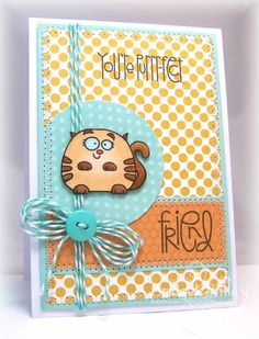 WT408 Purr-fect Friend by bfinlay - Cards and Paper Crafts at Splitcoaststampers