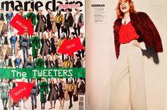 New Collection FW 2013 Ecopelliccia con Revers - Redazionale Marieclaire street style settembre @SoAllure
