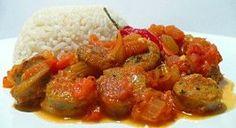 La recette du rougail saucisse, spécialité de l'île de La Réunion !