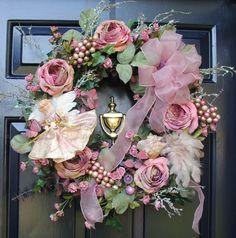 Minus angel pretty valentine wreath