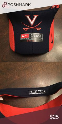 ad42241b2dc78 NWT Virginia UVA Cavaliers Nike Blue Visor Hat Description  University of  Virginia Cavaliers Nike Team