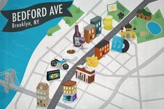 Guide to Bedford Avenue, Brooklyn: from Greenpoint to Broadway... The only way to truly understand Brooklyn is to walk its streets, see its homes, meet its people, and understand its ebb and flow.