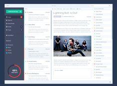 Mail App MockUp | GraphicBurger