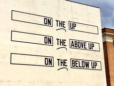 TRACK Ghent Lawrence Weiner On the up