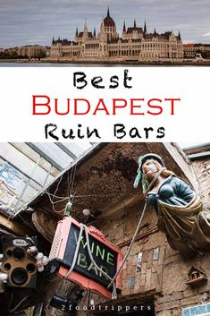 Drinking at Budapest ruin bars is one of the best things to do in Budapest, Hungary. We spent in a month in Budapest searching for the best ruin bars and share our findings in a handy guide. Budapest Ruin Bar, Budapest Travel Guide, Visit Budapest, Europe Travel Guide, Budapest Hungary, Travel Guides, Budapest Things To Do In, Travel Deals, European Destination