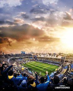 La Bombonera Stadium , Buenos Aires #boca #juniors #cabj #copalibertadores Football Stadiums, Messi, Fifa World Cup, Real Madrid, Dolores Park, Soccer, Landscape, Beach, Instagram