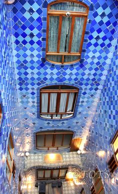 Casa Battlo  Interior  Gaudi  Barcelona   Catalonia