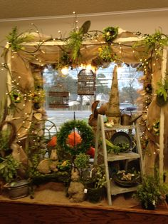 Easter display window!