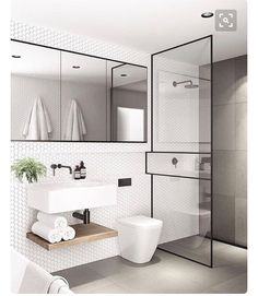 Modern Small Bathroom Design The Basic Components of Modern Bathroom Designs Modern Small Bathroom Design. Incorporating a modern bathroom design will give you a more … Modern Bathroom Design, Bathroom Interior Design, Bathroom Designs, Modern Bathrooms, Modern Sink, Modern Design, Bath Design, Modern Toilet, Luxury Bathrooms