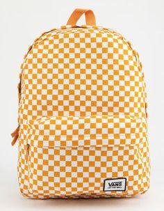 VANS Realm Classic Checkerboard Backpack Source by Bags Cute Backpacks For School, Cute Mini Backpacks, Kids Backpacks, College Backpacks, Canvas Backpacks, Vans School Bags, Vans Bags, Vans Backpack, Backpack Bags