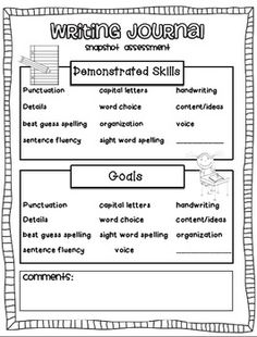 First grade handwriting assessment mazes
