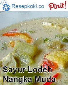 Indonesian Cuisine, Indonesian Recipes, Cake Recipes, Food And Drink, Soup, Cooking Recipes, Vegan, Chicken, Vegetables