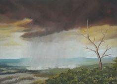 Rainfall (Oil on Canvas)