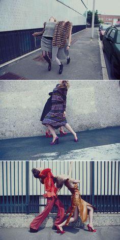 GREY MAGAZINE V  Photo: ALESSIO BOLZONI  Styling: Moreno Galatà  Thursday 14.07.11