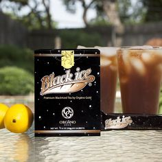 Healthy and Delicios Black Ice tea Organo Gold with Organic Ganoderma herb. Coffee Is Life, I Love Coffee, Black Coffee, Homemade Iced Tea, Natural Honey, Refreshing Drinks, Tea Recipes, Hot Chocolate, Chocolate Lovers