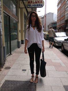 Zara Shirt, Zara Jeans, Zara Sandals