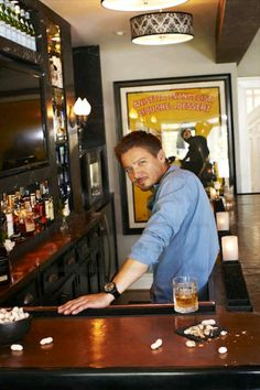 If I walked into a bar and saw that behind it, I wouldn't be able to drink. He just wouldn't be safe!