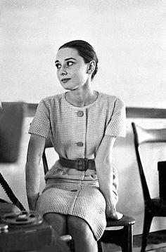 Audrey Hepburn in Rome, Italy 1959