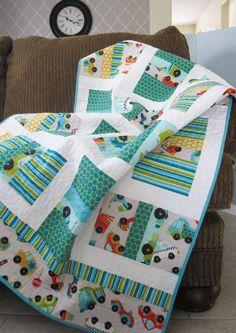 Everyday Celebrations: little man quilt