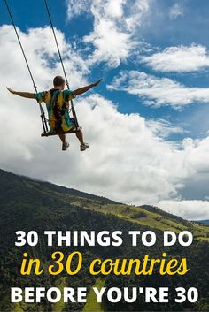 Milestones aren't measured in years—they're measured by the journey... GET YOUR JOURNEY STARTED WITH THESE 30 IDEAS...