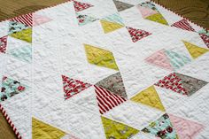 Quilting With Triangles, Part 1: Cutting | WeAllSew